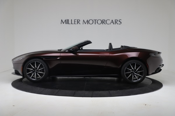 Used 2020 Aston Martin DB11 Volante Convertible for sale Call for price at Pagani of Greenwich in Greenwich CT 06830 5