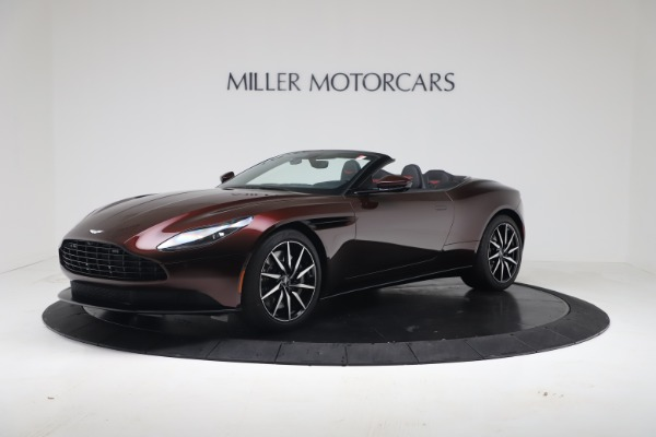 Used 2020 Aston Martin DB11 Volante Convertible for sale Call for price at Pagani of Greenwich in Greenwich CT 06830 1