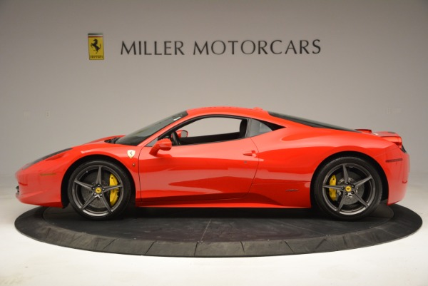 Used 2013 Ferrari 458 Italia for sale Call for price at Pagani of Greenwich in Greenwich CT 06830 3