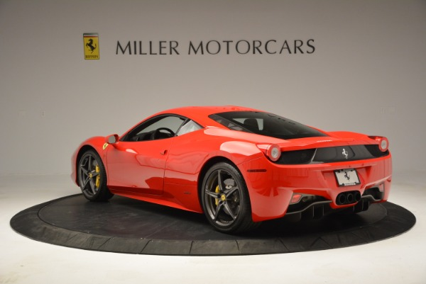 Used 2013 Ferrari 458 Italia for sale Call for price at Pagani of Greenwich in Greenwich CT 06830 5