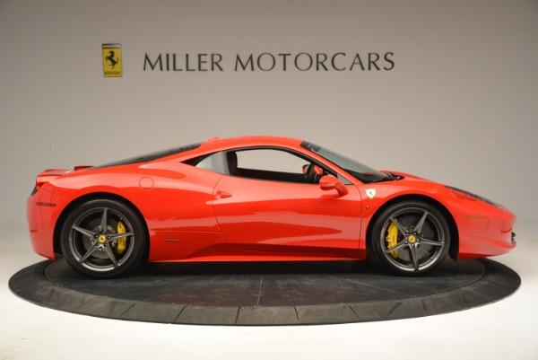 Used 2013 Ferrari 458 Italia for sale Call for price at Pagani of Greenwich in Greenwich CT 06830 9