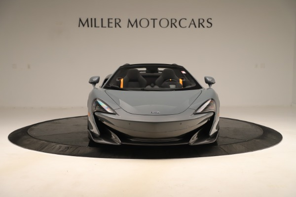 Used 2020 McLaren 600LT Spider for sale Sold at Pagani of Greenwich in Greenwich CT 06830 11
