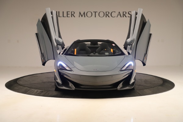 Used 2020 McLaren 600LT Spider for sale Sold at Pagani of Greenwich in Greenwich CT 06830 12