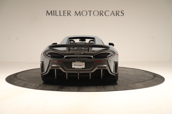 Used 2020 McLaren 600LT Spider for sale Sold at Pagani of Greenwich in Greenwich CT 06830 17