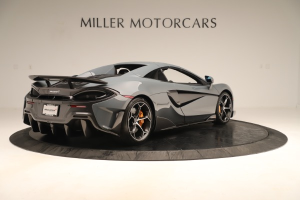 Used 2020 McLaren 600LT Spider for sale Sold at Pagani of Greenwich in Greenwich CT 06830 18