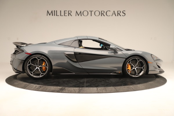 Used 2020 McLaren 600LT Spider for sale Sold at Pagani of Greenwich in Greenwich CT 06830 19