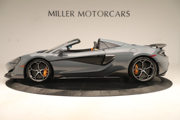 Used 2020 McLaren 600LT Spider for sale Sold at Pagani of Greenwich in Greenwich CT 06830 2
