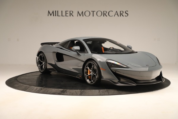 New 2020 McLaren 600LT SPIDER Convertible for sale Sold at Pagani of Greenwich in Greenwich CT 06830 20