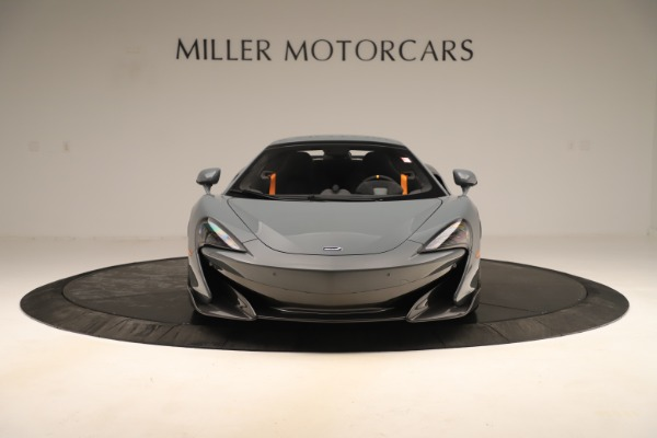 New 2020 McLaren 600LT SPIDER Convertible for sale Sold at Pagani of Greenwich in Greenwich CT 06830 21
