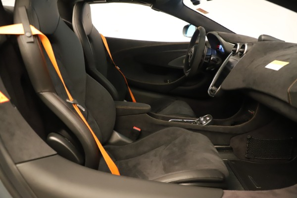 Used 2020 McLaren 600LT Spider for sale Sold at Pagani of Greenwich in Greenwich CT 06830 26