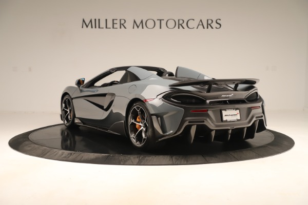 Used 2020 McLaren 600LT Spider for sale Sold at Pagani of Greenwich in Greenwich CT 06830 4
