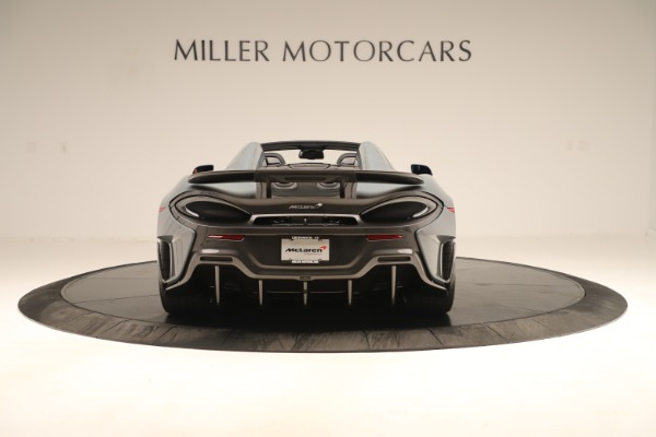 Used 2020 McLaren 600LT Spider for sale Sold at Pagani of Greenwich in Greenwich CT 06830 5
