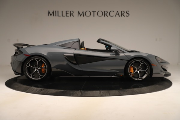 Used 2020 McLaren 600LT Spider for sale Sold at Pagani of Greenwich in Greenwich CT 06830 8