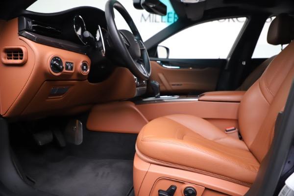 Used 2016 Maserati Quattroporte S Q4 for sale Sold at Pagani of Greenwich in Greenwich CT 06830 14