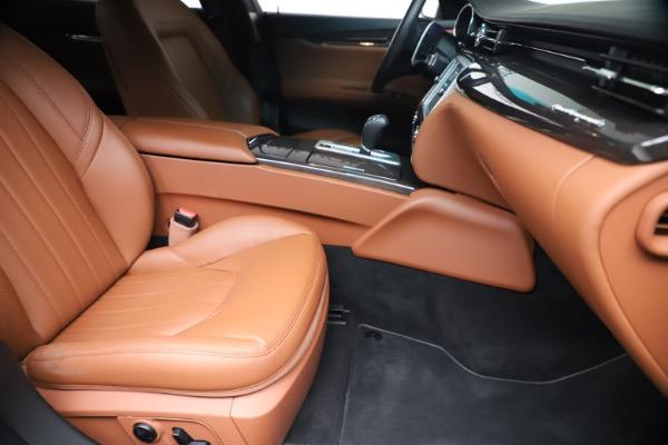 Used 2016 Maserati Quattroporte S Q4 for sale Sold at Pagani of Greenwich in Greenwich CT 06830 24