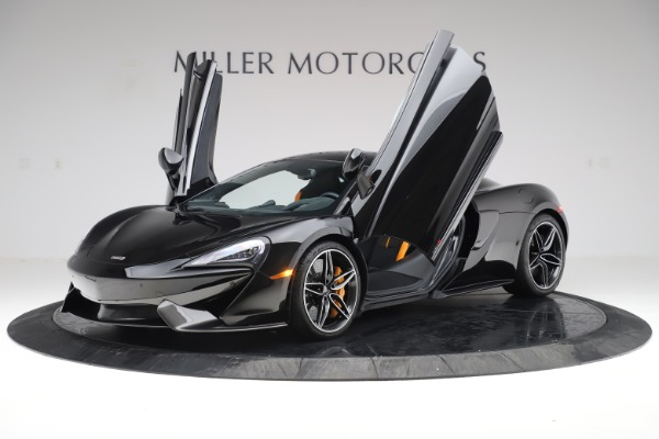 Used 2017 McLaren 570S Coupe for sale $161,900 at Pagani of Greenwich in Greenwich CT 06830 13