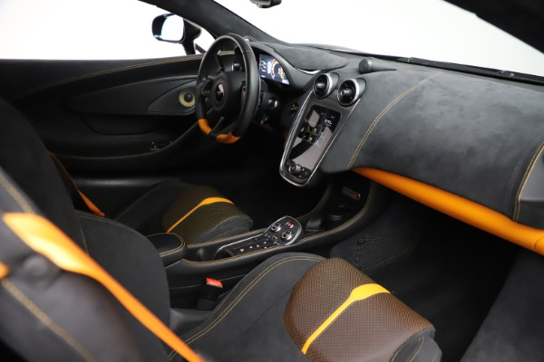 Used 2017 McLaren 570S Coupe for sale $161,900 at Pagani of Greenwich in Greenwich CT 06830 19