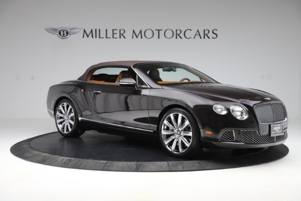 Used 2013 Bentley Continental GT W12 for sale Sold at Pagani of Greenwich in Greenwich CT 06830 18