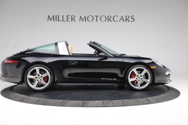 Used 2016 Porsche 911 Targa 4S for sale Sold at Pagani of Greenwich in Greenwich CT 06830 10