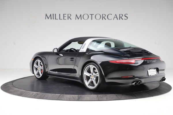 Used 2016 Porsche 911 Targa 4S for sale Sold at Pagani of Greenwich in Greenwich CT 06830 28