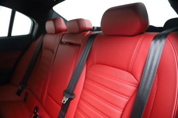 New 2019 Alfa Romeo Giulia Ti Sport Carbon Q4 for sale Sold at Pagani of Greenwich in Greenwich CT 06830 18