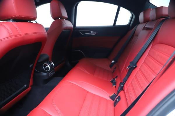 New 2019 Alfa Romeo Giulia Ti Sport Carbon Q4 for sale Sold at Pagani of Greenwich in Greenwich CT 06830 19