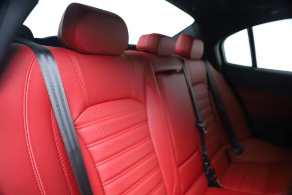 New 2019 Alfa Romeo Giulia Ti Sport Carbon Q4 for sale Sold at Pagani of Greenwich in Greenwich CT 06830 26