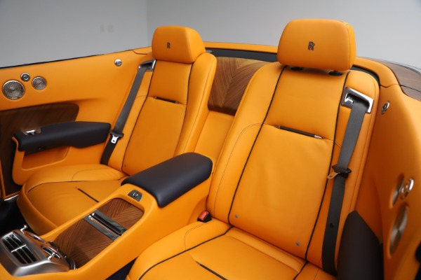 Used 2017 Rolls-Royce Dawn for sale $265,900 at Pagani of Greenwich in Greenwich CT 06830 21