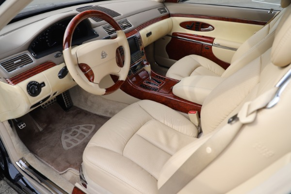 Used 2009 Maybach 62 for sale Sold at Pagani of Greenwich in Greenwich CT 06830 13