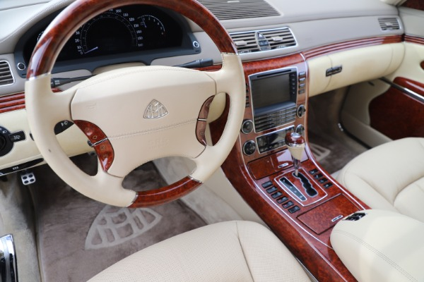 Used 2009 Maybach 62 for sale Sold at Pagani of Greenwich in Greenwich CT 06830 16