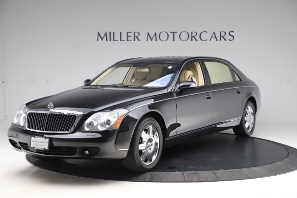 Used 2009 Maybach 62 for sale Sold at Pagani of Greenwich in Greenwich CT 06830 1