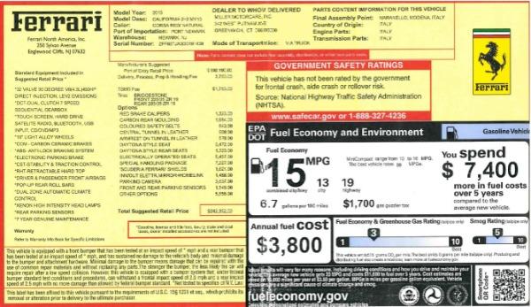 Used 2013 Ferrari California 30 for sale $112,900 at Pagani of Greenwich in Greenwich CT 06830 27