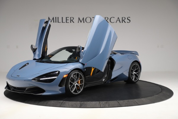 New 2020 McLaren 720S Spider Convertible for sale Sold at Pagani of Greenwich in Greenwich CT 06830 10