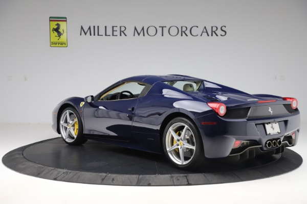 Used 2013 Ferrari 458 Spider for sale Sold at Pagani of Greenwich in Greenwich CT 06830 15
