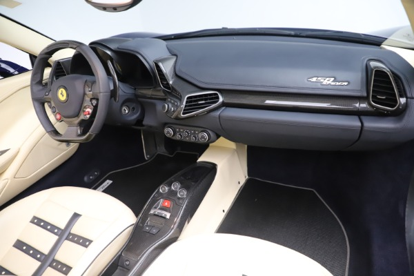 Used 2013 Ferrari 458 Spider for sale Sold at Pagani of Greenwich in Greenwich CT 06830 23