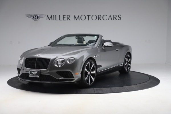 Used 2016 Bentley Continental GTC V8 S for sale $139,900 at Pagani of Greenwich in Greenwich CT 06830 1