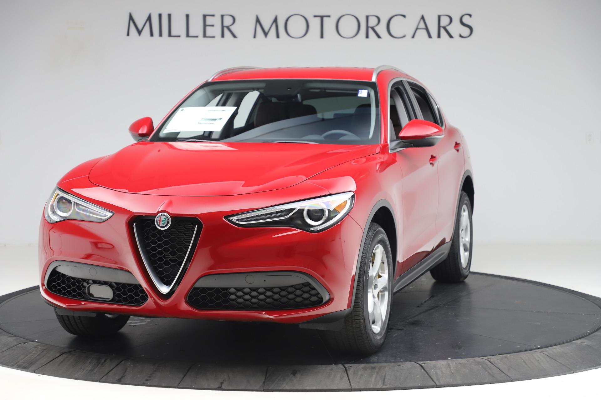 New 2019 Alfa Romeo Stelvio Q4 for sale Sold at Pagani of Greenwich in Greenwich CT 06830 1