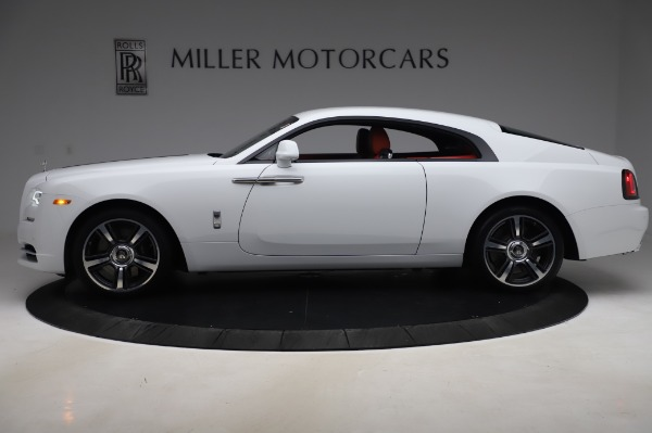 New 2020 Rolls-Royce Wraith for sale $392,325 at Pagani of Greenwich in Greenwich CT 06830 3
