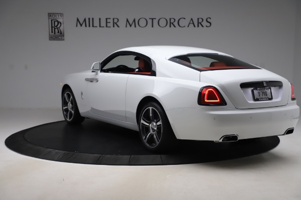 New 2020 Rolls-Royce Wraith for sale $392,325 at Pagani of Greenwich in Greenwich CT 06830 4