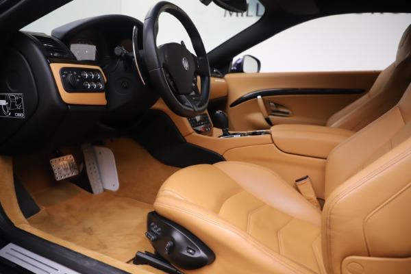 Used 2016 Maserati GranTurismo Sport for sale Sold at Pagani of Greenwich in Greenwich CT 06830 14