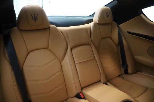 Used 2016 Maserati GranTurismo Sport for sale Sold at Pagani of Greenwich in Greenwich CT 06830 23