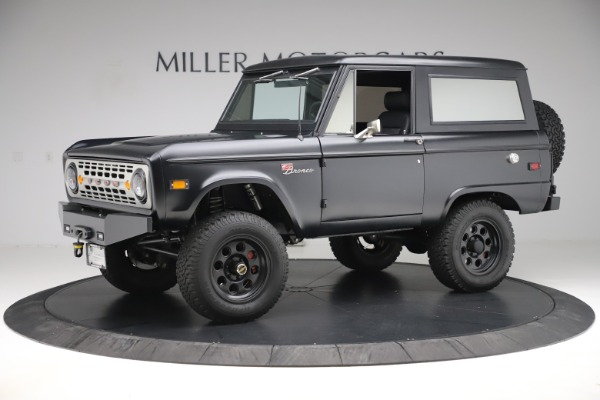 Used 1972 Ford Bronco Icon for sale Sold at Pagani of Greenwich in Greenwich CT 06830 2