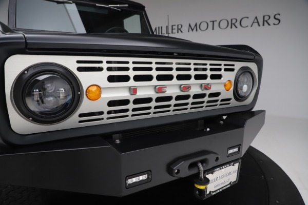 Used 1972 Ford Bronco Icon for sale Sold at Pagani of Greenwich in Greenwich CT 06830 27