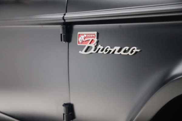 Used 1972 Ford Bronco Icon for sale Sold at Pagani of Greenwich in Greenwich CT 06830 28