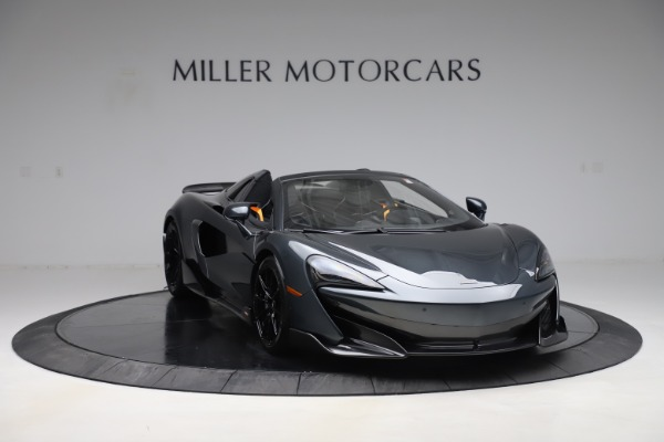Used 2020 McLaren 600LT Spider for sale Sold at Pagani of Greenwich in Greenwich CT 06830 10