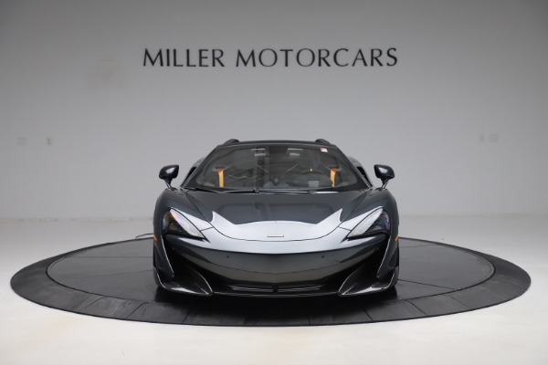 Used 2020 McLaren 600LT SPIDER Convertible for sale $249,900 at Pagani of Greenwich in Greenwich CT 06830 11