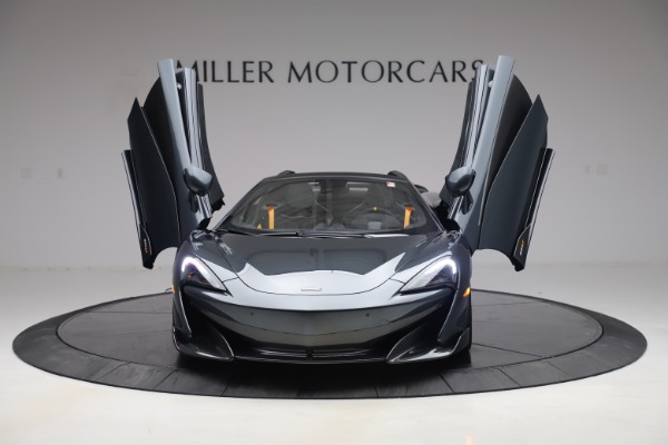 Used 2020 McLaren 600LT SPIDER Convertible for sale $249,900 at Pagani of Greenwich in Greenwich CT 06830 12