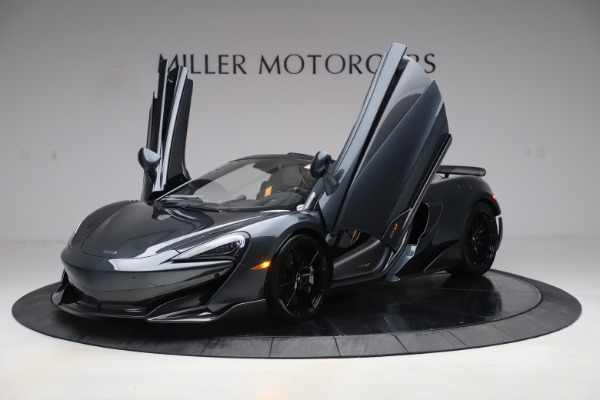 Used 2020 McLaren 600LT SPIDER Convertible for sale $249,900 at Pagani of Greenwich in Greenwich CT 06830 13