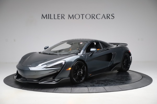 Used 2020 McLaren 600LT SPIDER Convertible for sale $249,900 at Pagani of Greenwich in Greenwich CT 06830 14