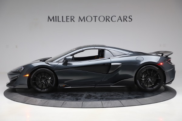 Used 2020 McLaren 600LT SPIDER Convertible for sale $249,900 at Pagani of Greenwich in Greenwich CT 06830 15
